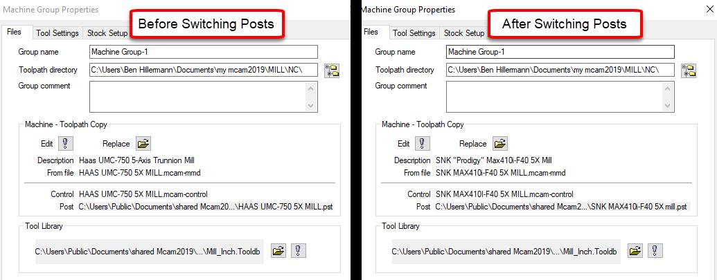 Mastercam Post Processor Editing