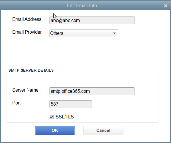 How to email from Quickbooks and other applications