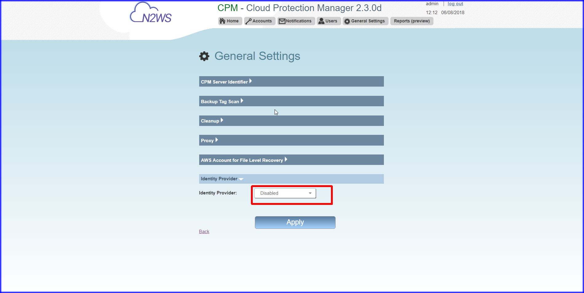 How to Integrate Okta Single Sign on with Cloud Protection