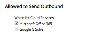 White-List Office 365 IP ranges screenshot