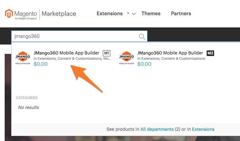 Magento 1: Install JMango360 plugin from Magento Marketplace