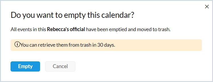 Empty prompt