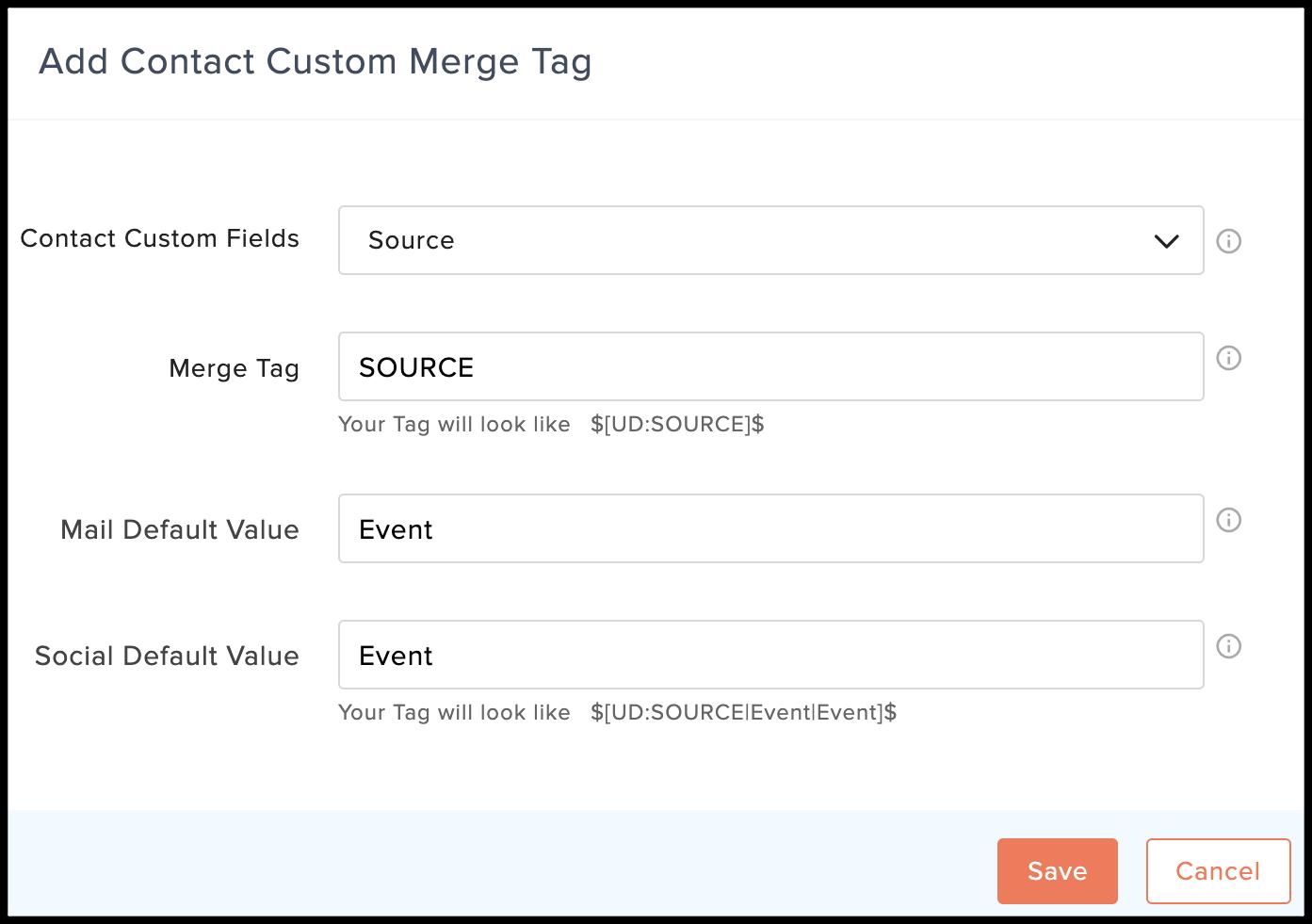 add custom tag