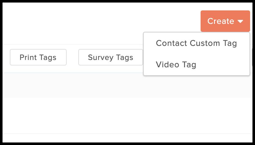 video tag option