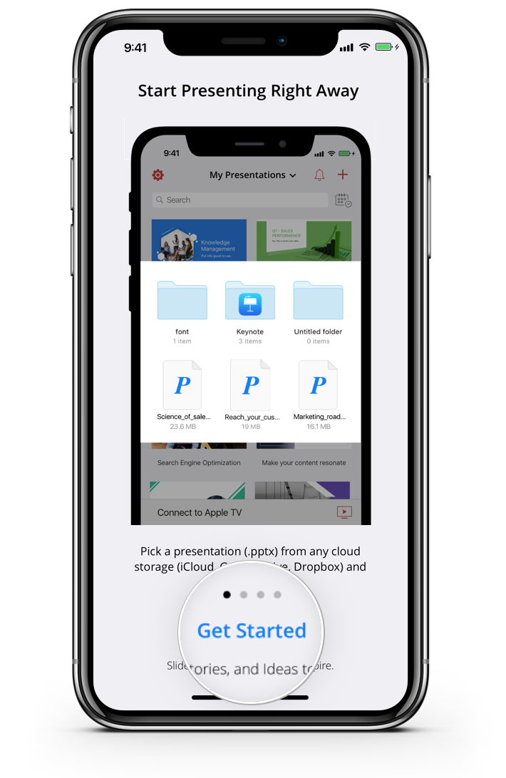 Download and install Show Mobile App for iOS device