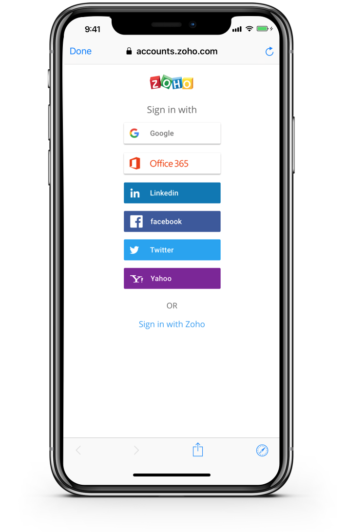 Sign up mobile Take SignUp