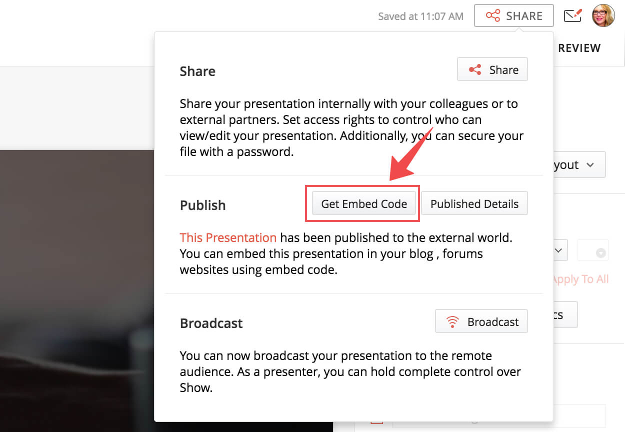 How to share and embed presentations on websites, blogs, and