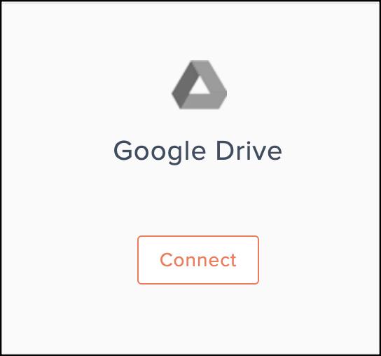 google drive connect