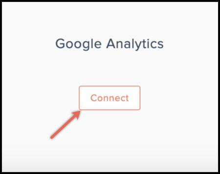 google analytics connect