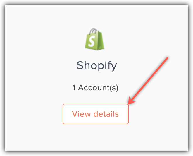 shopify view details
