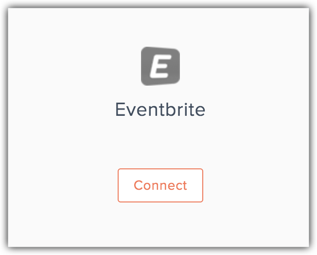 connect with eventbrite