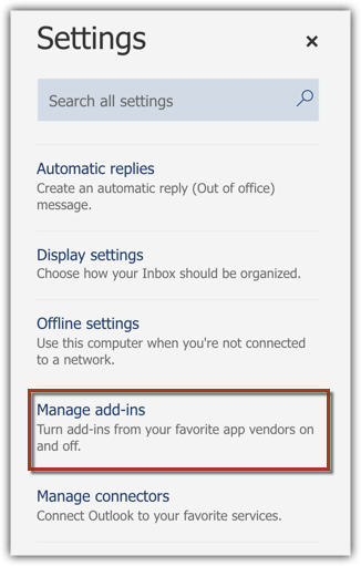 Microsoft Outlook add-in for Zoho CRM | Online Help - Zoho CRM