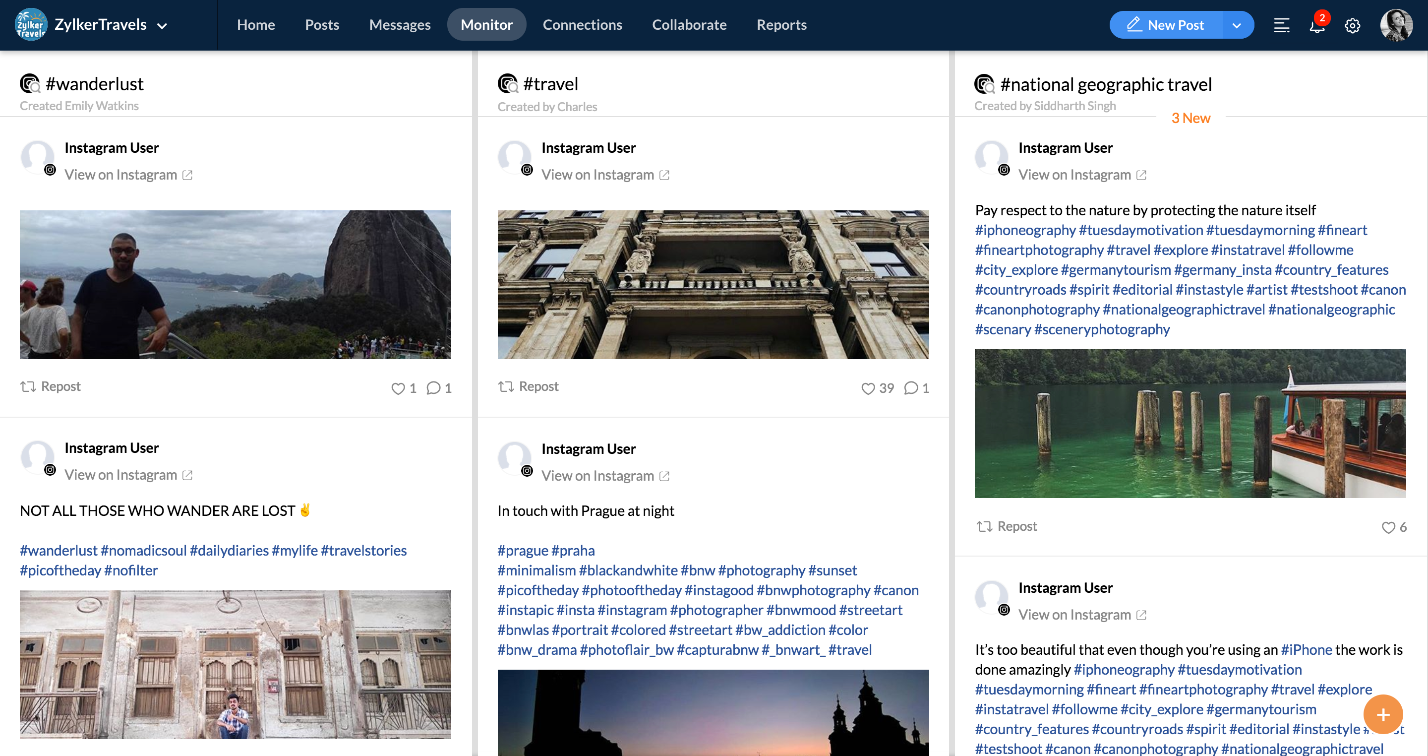 INSTA SEARCH - Instagram Publishing