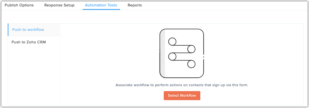 Add automation tool in workflow