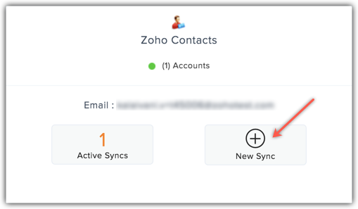 contacts new sync