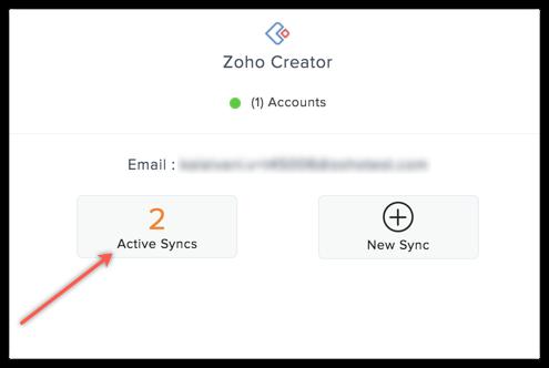 creator active syncs