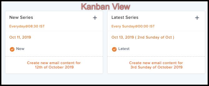 Kanban view autoresponder