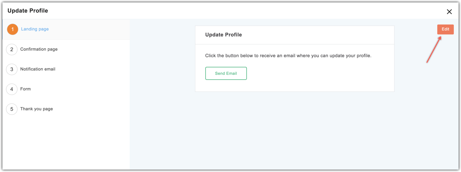 customize pages