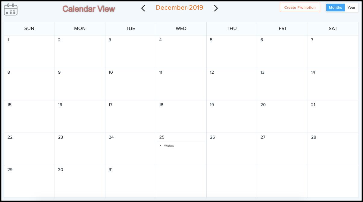 calendar view autoresponder