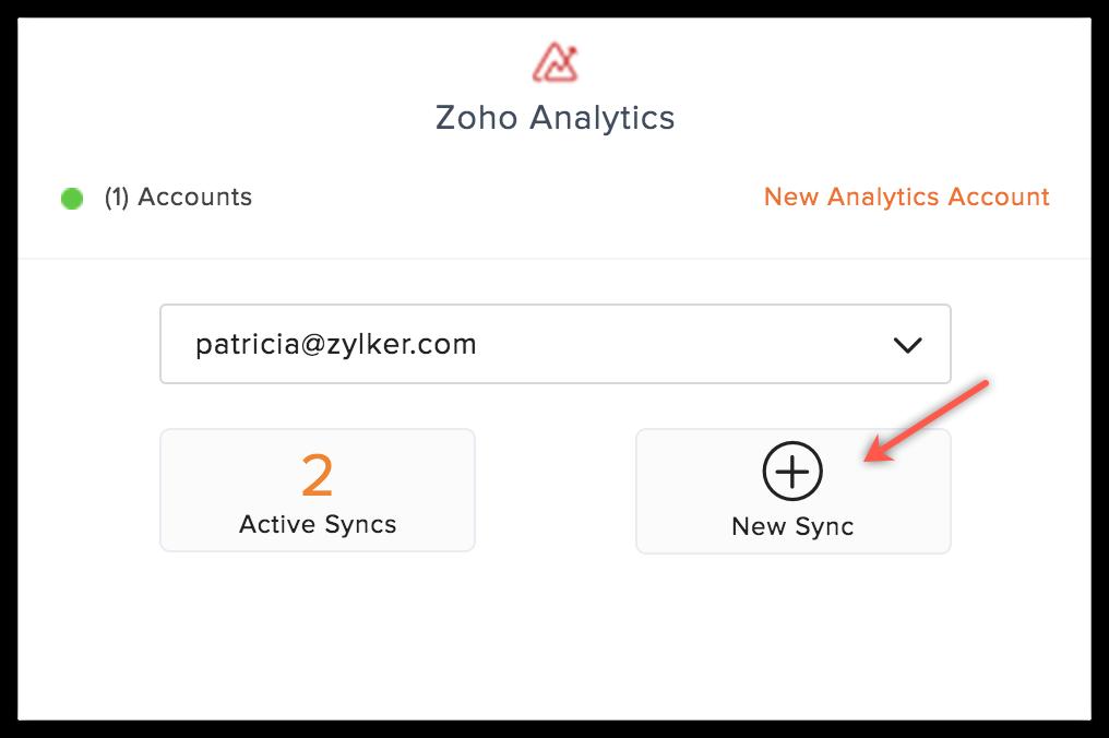 analytics new sync