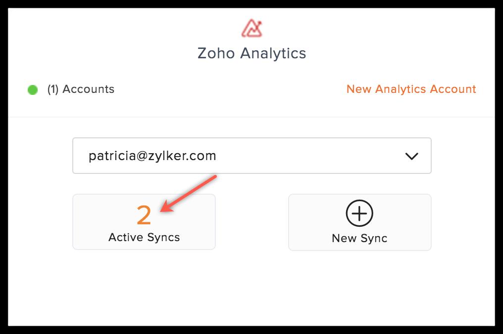 analytics active syncs