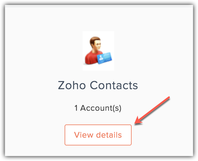 contacts view details