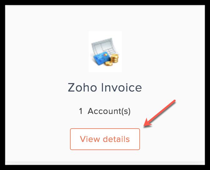 invoice view details