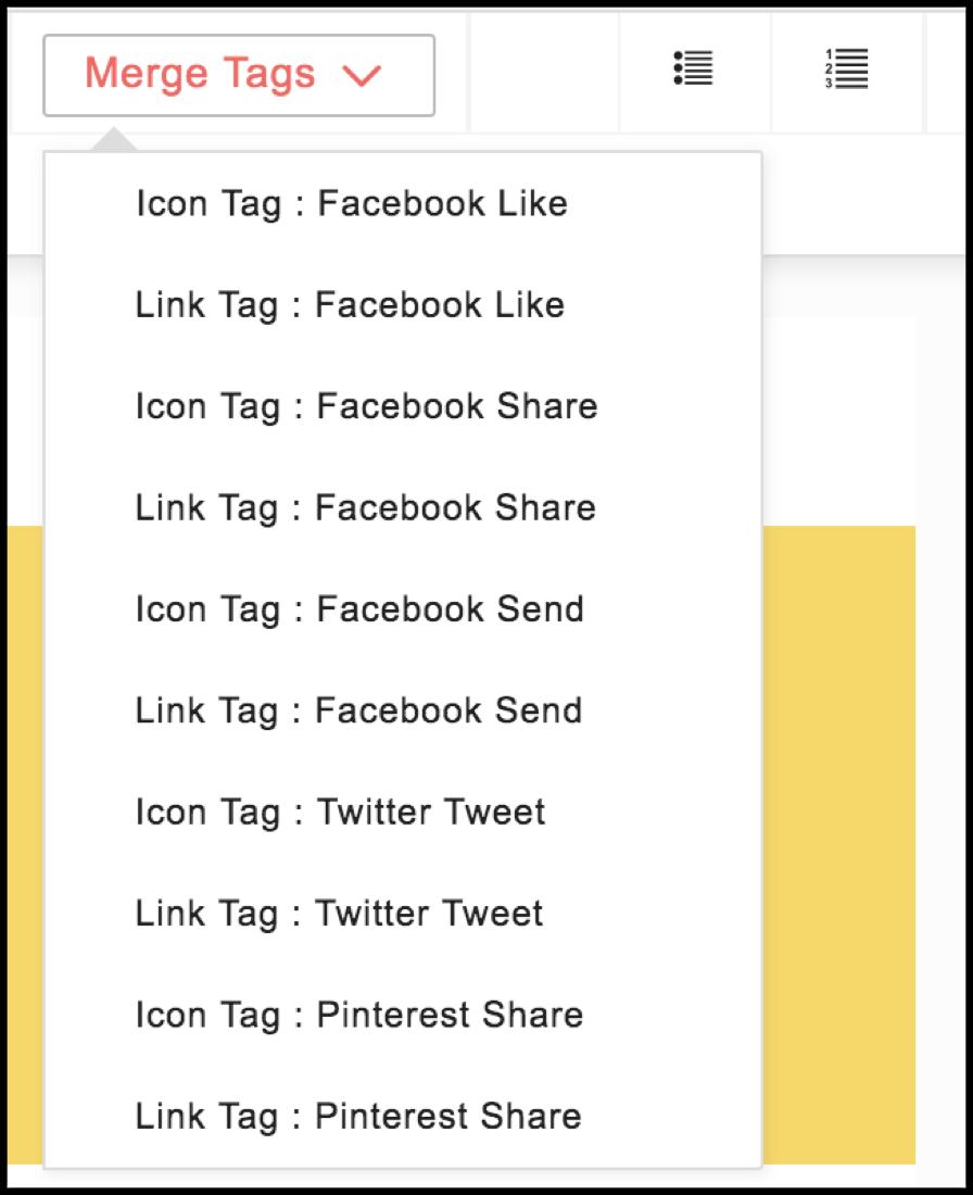 social media tags
