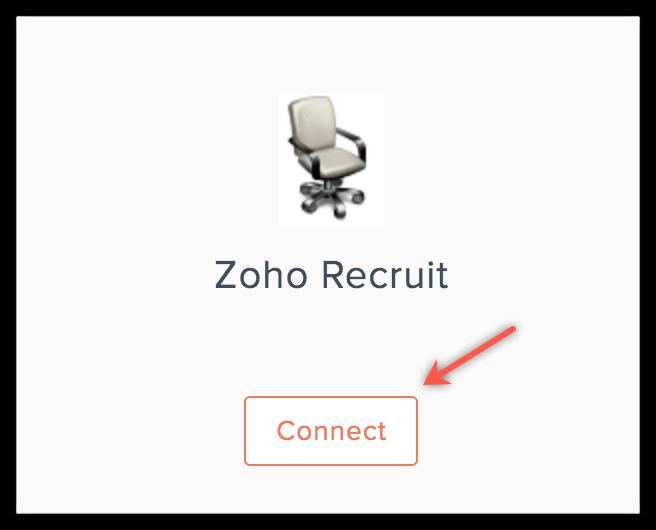 zoho recruit connect