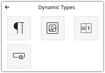 Dynamic types