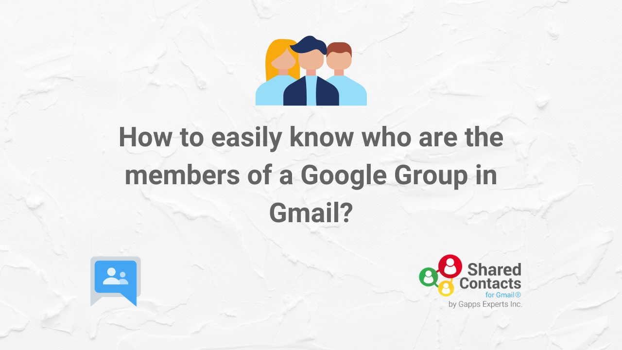 how to see the Google Group members