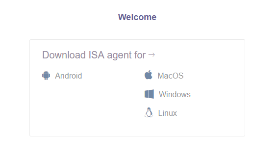 Installing the ISA Android Application