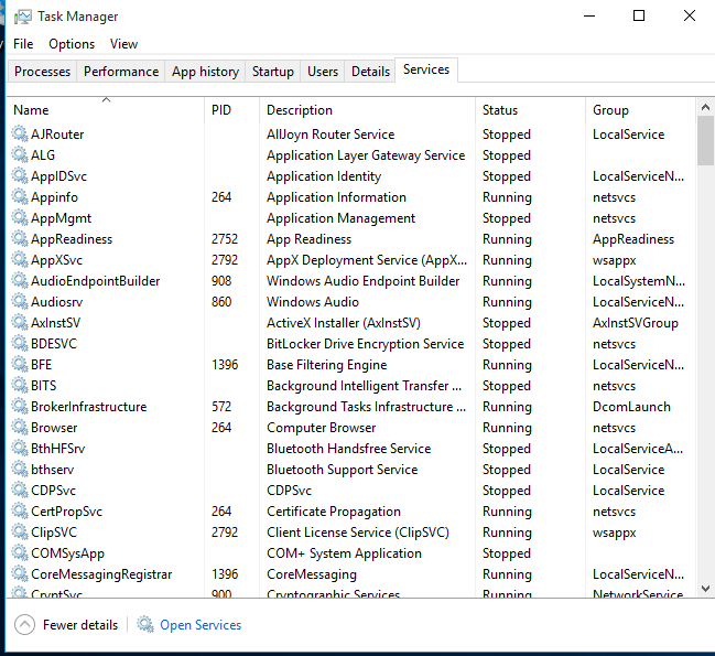 Windows 10 High CPU issue Addressed continued (3 of 4)