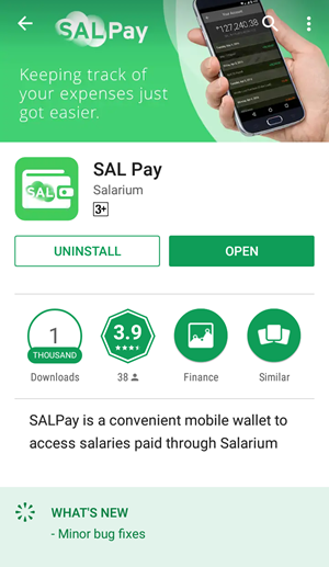 How can I download the SAL Pay app and Log In?
