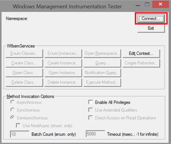 how to fix wmi error 10