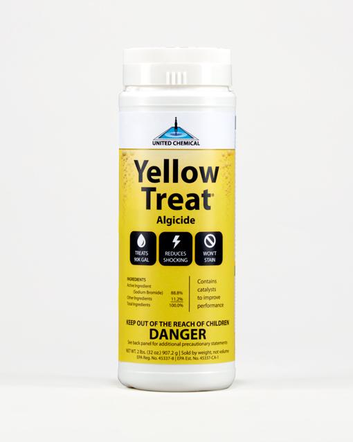 Yellow Treat 2lb. Bottle