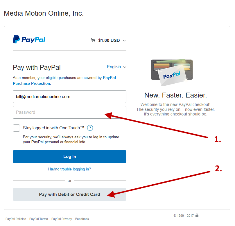 Paying Your Media Motion Online Invoice Online - Online invoices inc