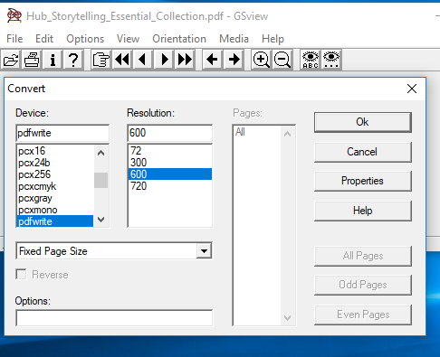 13500//unlock PDF Files Using Ghostscript and GSView