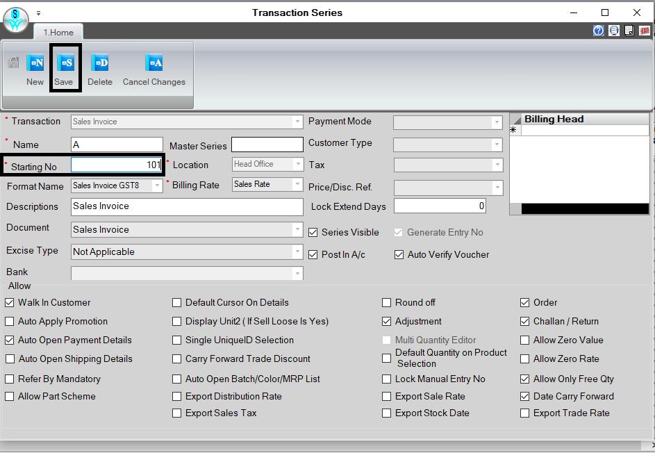 Retailgraph software transaction series.