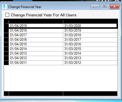 Retailgraph change financial year.