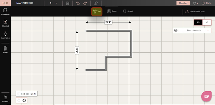 How to draw a floor plan from scratch