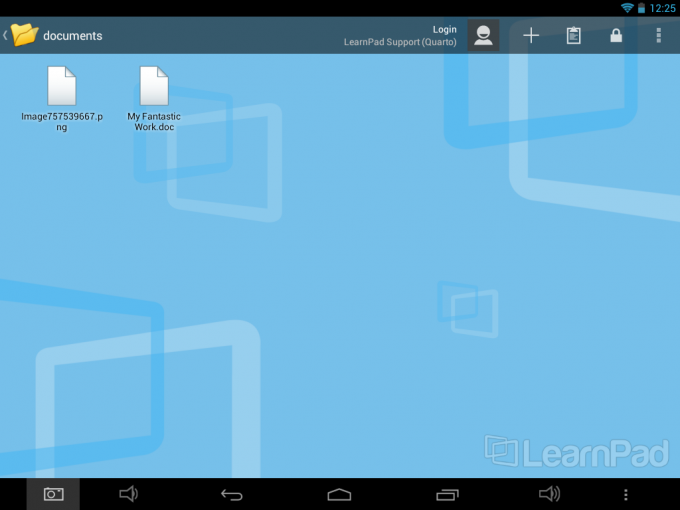 LearnPad Tablets for Schools: Device Usage Managing Files with the