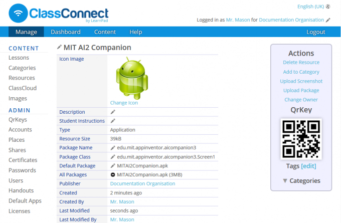LearnPad Tablets for Schools: Lessons Adding the MIT AI2