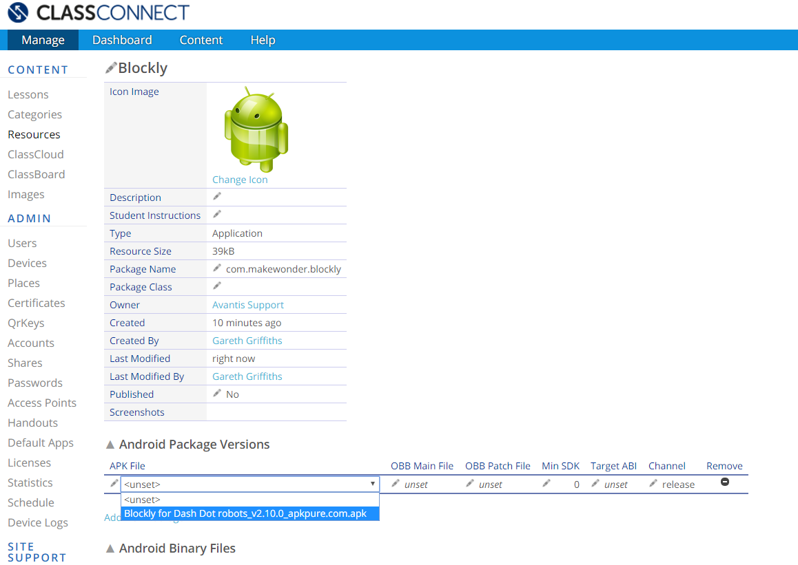 ClassConnect Portal Installing 3rd Party Apps onto your