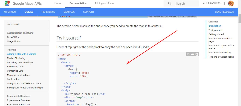How do I embed Google maps on my Kyvio page?
