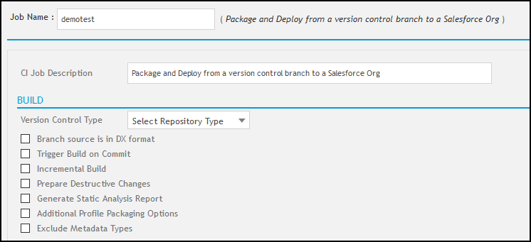 Deploy from Version Control
