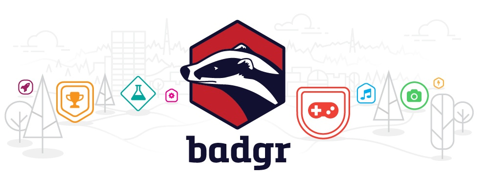Badgr colorful logo
