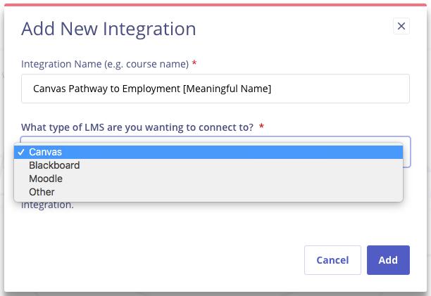 Add new integration
