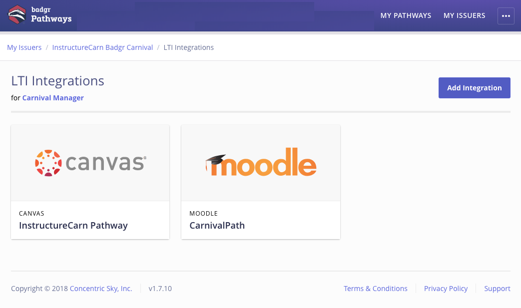 Moodle or Canvas