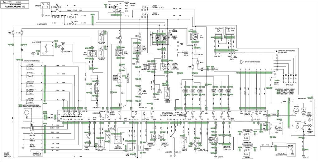 [FPER_4992]  Holden/Buick V6 Ecotec | Vs Wiring Diagram |  | Haltech